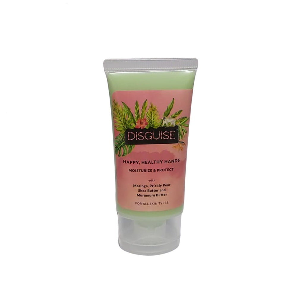 This is an image of Disguise Cosmetics Moringa & Prickly Pear Hand Cream on www.sublimelife.in