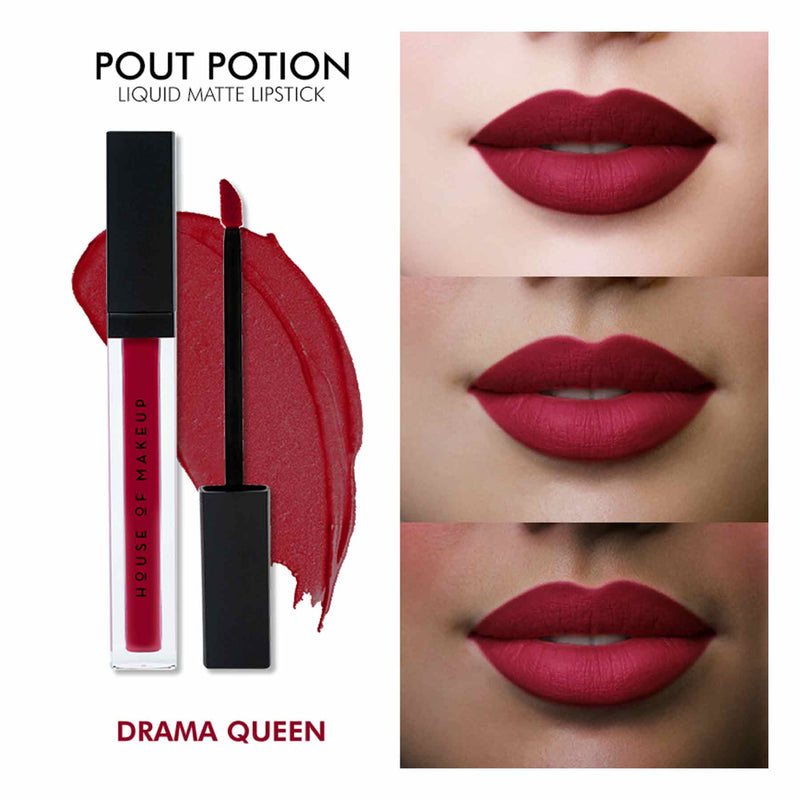 Pout Potion Liquid Matte Lipstick-Drama Queen-Sublime Life