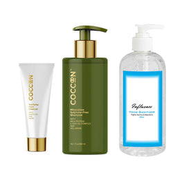 Essential Combo 5(Face Cleanser, Shampoo & Hand Sanitizer )