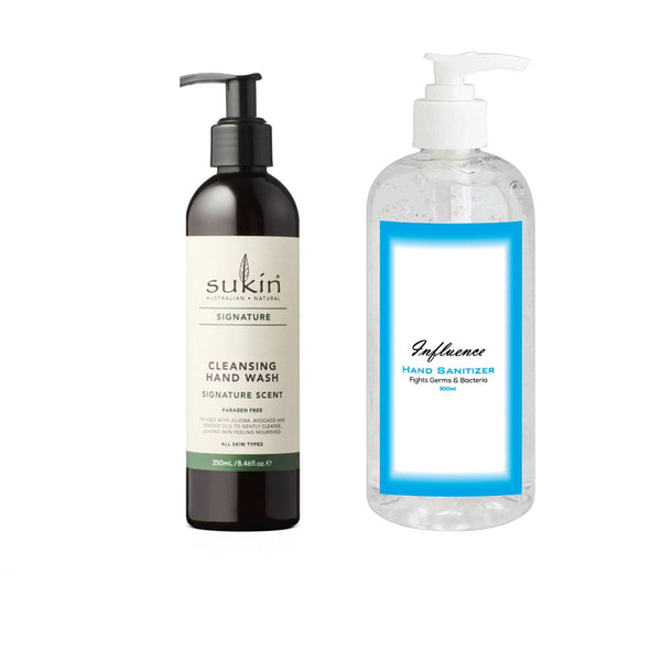 Essential Set 1(Hand Wash & Hand Sanitizer )