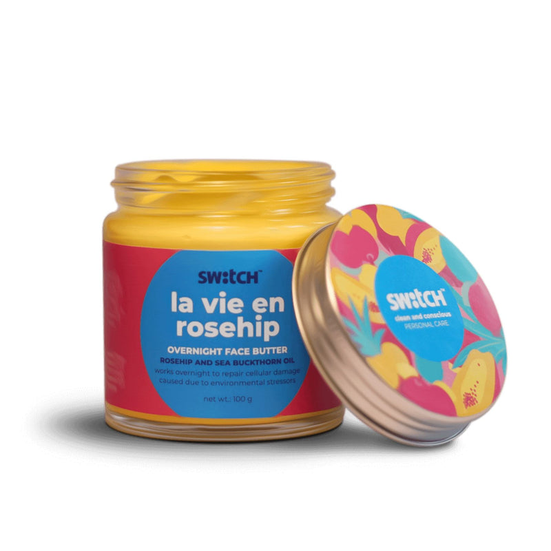 Shop La Vie En Rosehip Face Butter from The Switch Fix on SublimeLife.in. Best for giving you radiant skin in the morning.