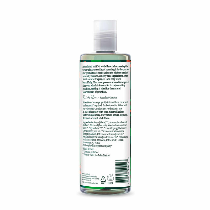 Shop Aloe Vera Shampoo from Faith in Nature on SublimeLife.in. Best for calming your dry and itchy scalp.