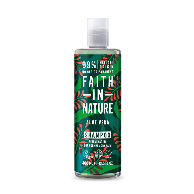 Shop Aloe Vera Shampoo and Conditioner Combo from Faith in Nature on SublimeLife.in. Best for calming itchy scalp.