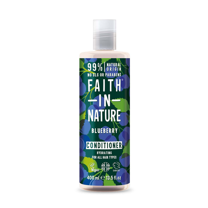 Shop Blueberry Shampoo and Conditioner Combo from Faith in Nature on SublimeLife.in. Best for healthy and shiny hair.