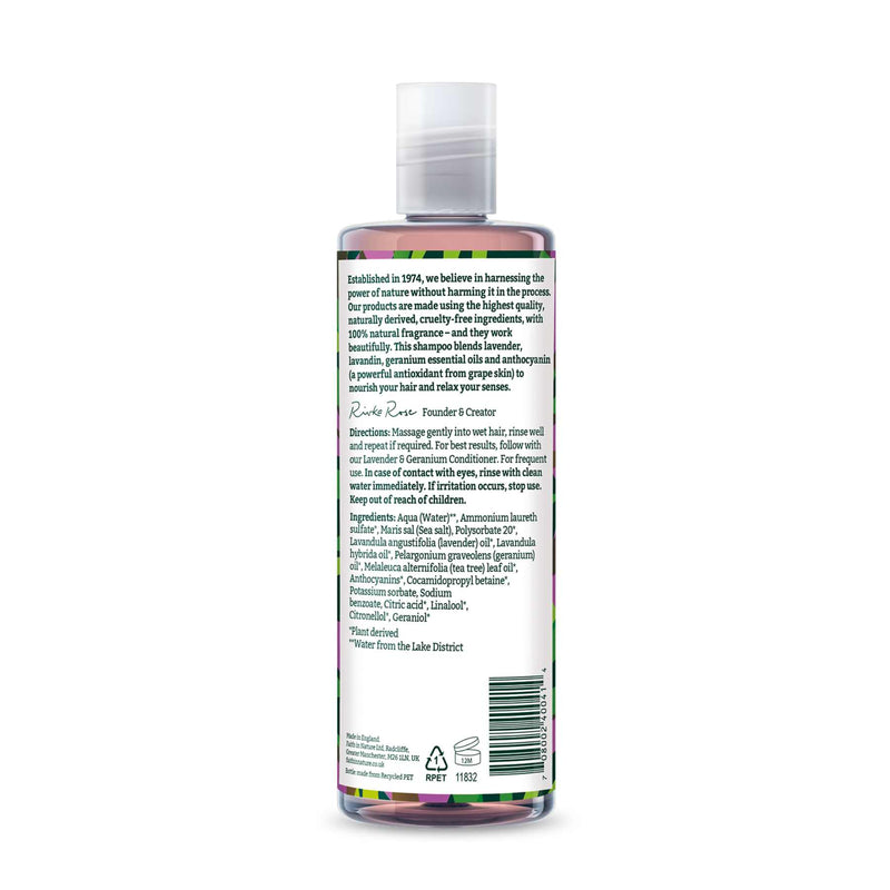 Lavender & Geranium Shampoo and Conditioner Combo