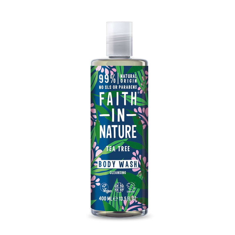 Shop Tea Tree Body Wash from Faith in Nature on SublimeLife.in. Best for leaving your skin feeling fresh and great.