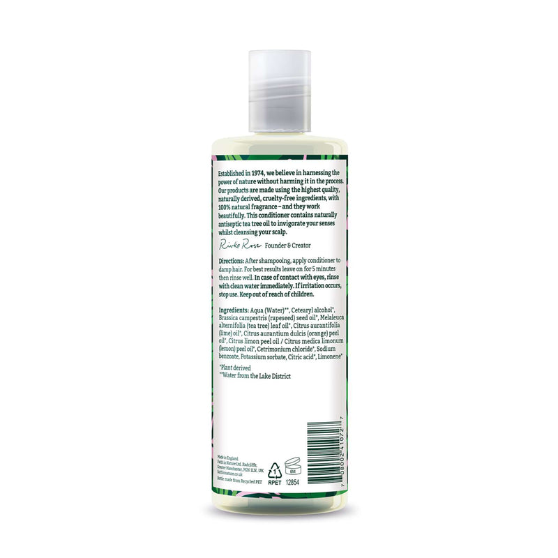 Shop Tea Tree Conditioner from Faith in Nature on SublimeLife.in. Best for greasy hair and gently cleansing the scalp.
