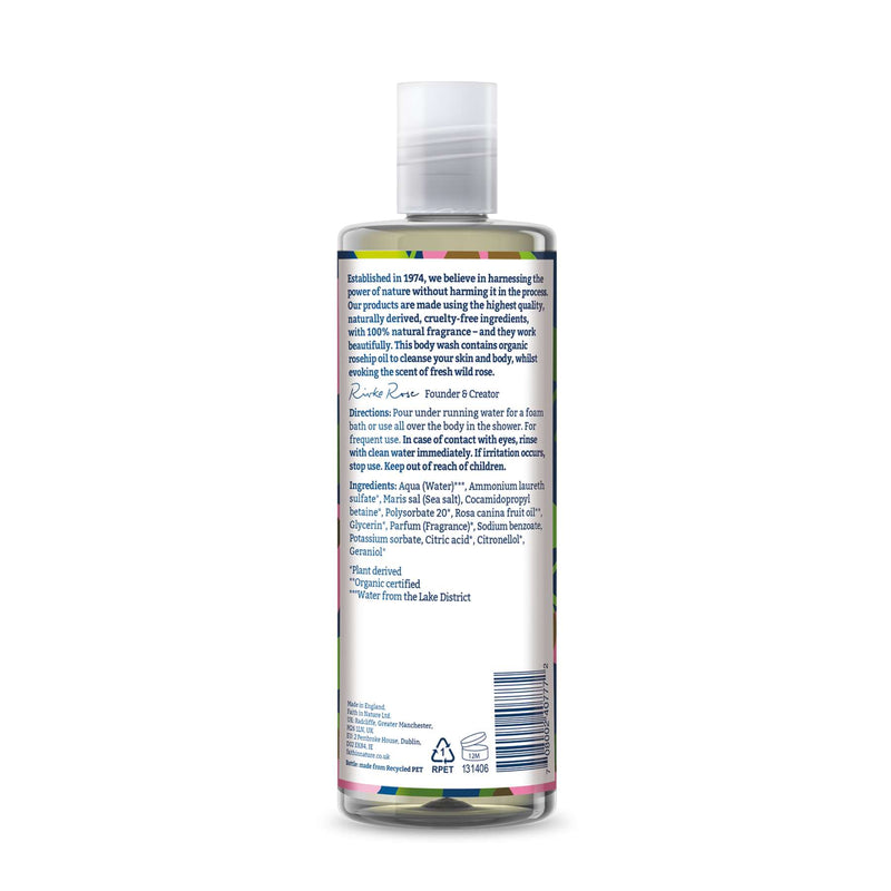 Shop Wild Rose Body Wash from Faith in Nature on SublimeLife.in. Best for moisturising dry skin.