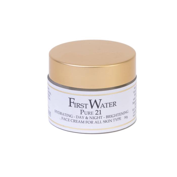 This is a image of First Water Solutions Pure 21 Day and Night Cream on www.sublimelife.in