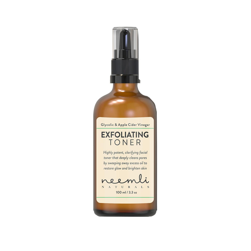 Shop Glycolic Acid & Apple Cider Vinegar Exfoliating Toner from Neemli Naturals on SublimeLife.in. Best for damaged skin.