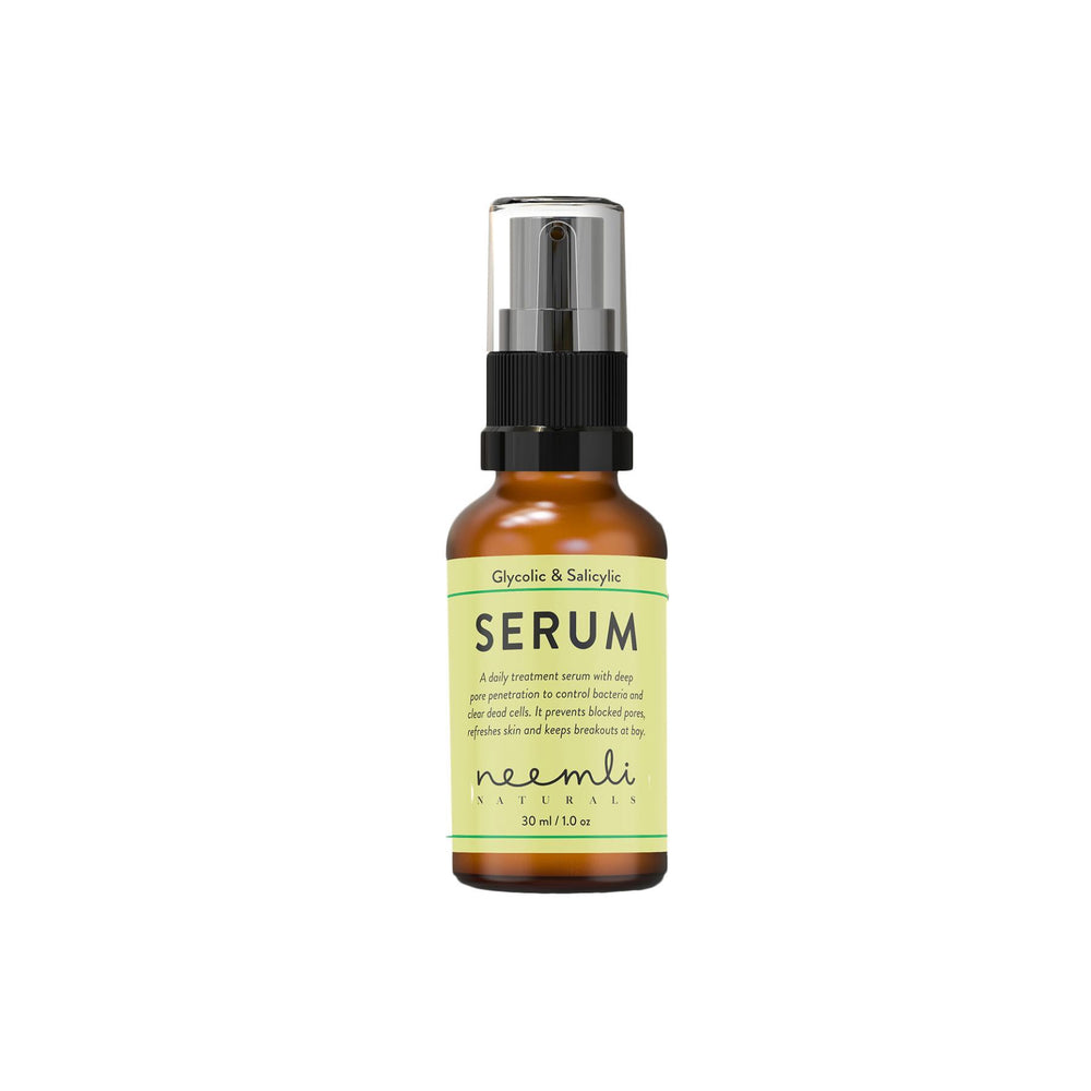 This is an mage of Neemli Naturals Glycolic & Salicylic Acid Serum on www.sublimelife.in