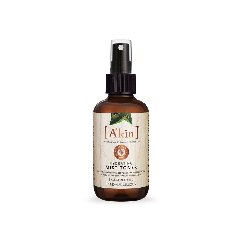 Shop Akin Natural Hydrating Mist Toner from Sublime Life. Helps in hydrating the skin!