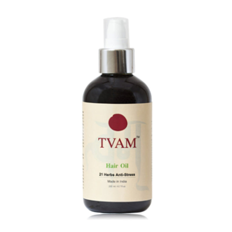 Shop Hair Oil - 21 Herbs Anti-Stress from Tvam on Sublime Life. Best for all hair types.