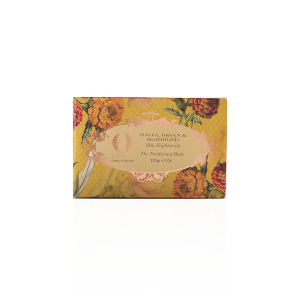 Shop Haldi Besan & Marigold Bathing Bar from Ohria Ayurveda on SublimeLife.in. Best for softening and skin brightening.