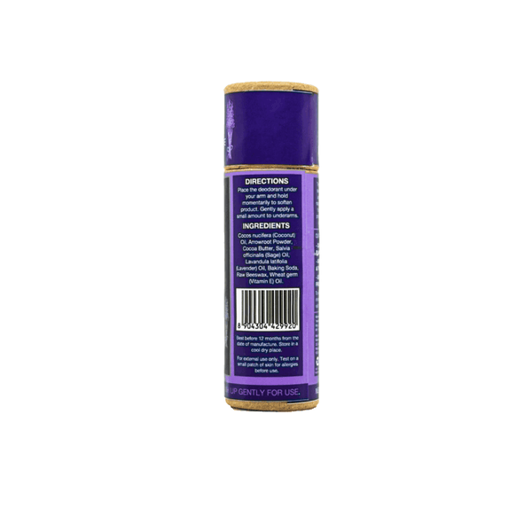 This is an image of Herbal Fusion roll on Natural Deodorant from TreeWear on SublimeLife.in. This is made of a blend of lavender and sage.