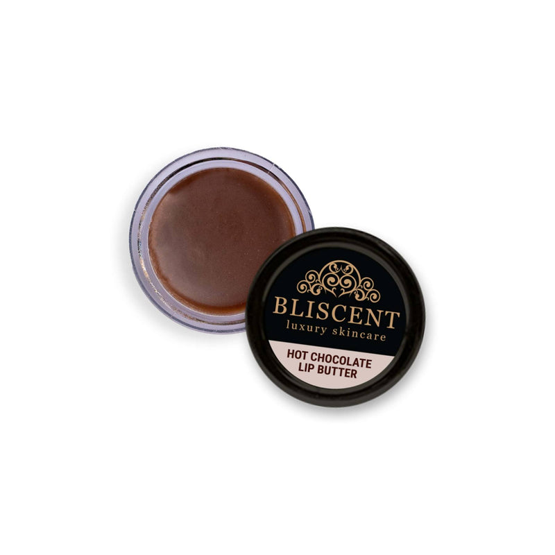 Shop Hot Chocolate Lip Butter from Bliscent on SublimeLife.in. Best for healing dry and chapped lips.
