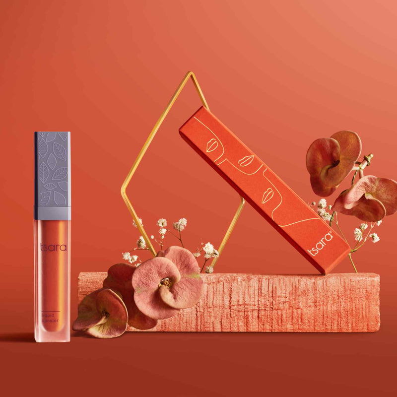 Shop Liquid Lip Color: Hustle Dust from Tsara on SublimeLife.in. Best for your lips!