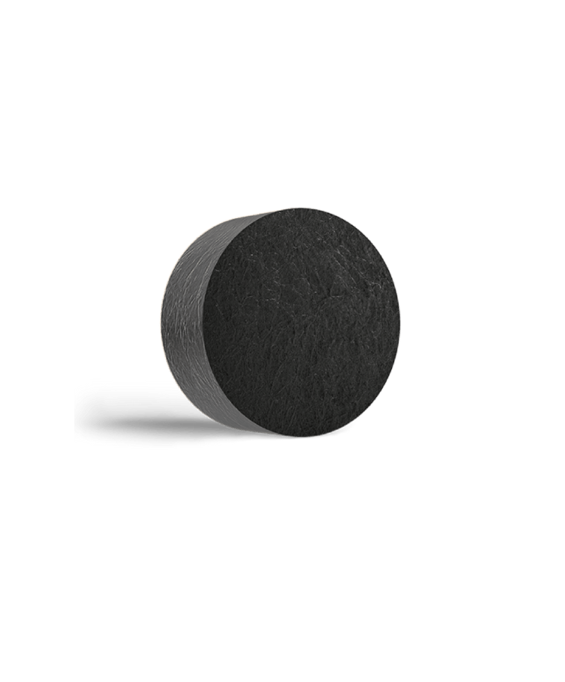 This is an image of Charcoal & Kokum Butter Hydrating Bathing Soap Bar from Neemli Naturals on SublimeLife.in. It is made from Kokum Butter, Activated Charcoal and Lavender.