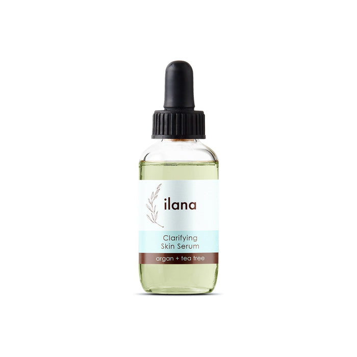 This is an image of Acne clarifying serum from the brand Illana Organics