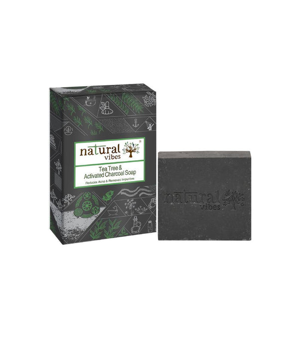 Tea Tree and Activated Charcoal Soap - Sublime Life