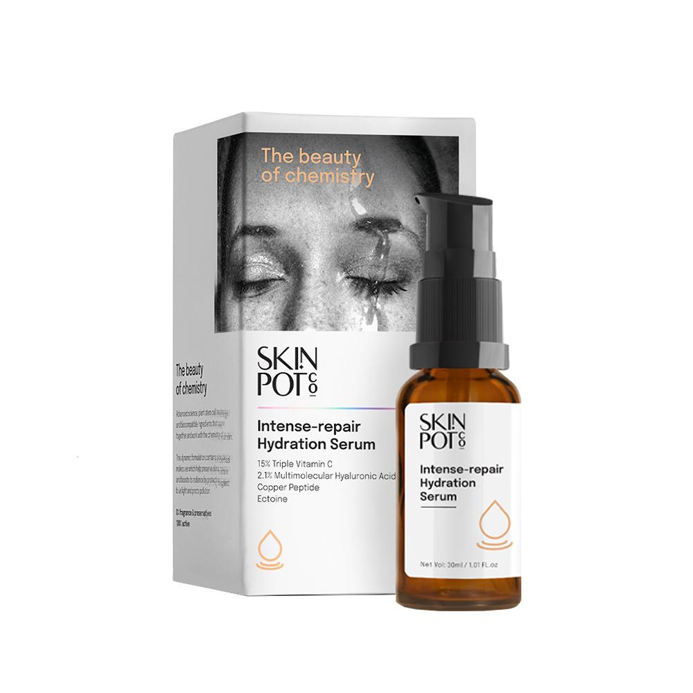 This is an image of Skin Pot's Intense Repair & Hydration Serum on www.sublimelife.in