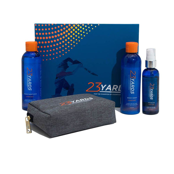 Shop Jetsetter Set from 23 Yards on SublimeLife.in. Best for proving care and nourishment to your skin and body.