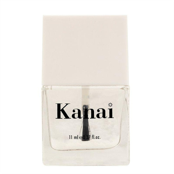 This is an image of Nail Paint - Me on Top from Kanai Organics on SublimeLife.in. This is the transparent top coat and it is made from toxic-free ingredients.