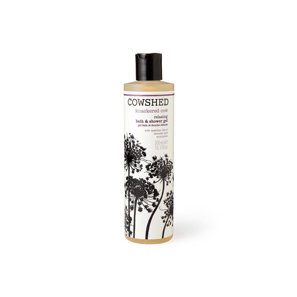 Shop Knackered Cow Relaxing Bath & Shower Gel from Cowshed on  SublimeLife.in. Best for cleansing your skin.