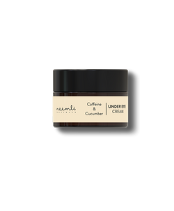 Shop Caffeine & Cucumber Under Eye Cream from Neemli Naturals on SublimeLife.in. Best for targeting eye bags and puffiness.