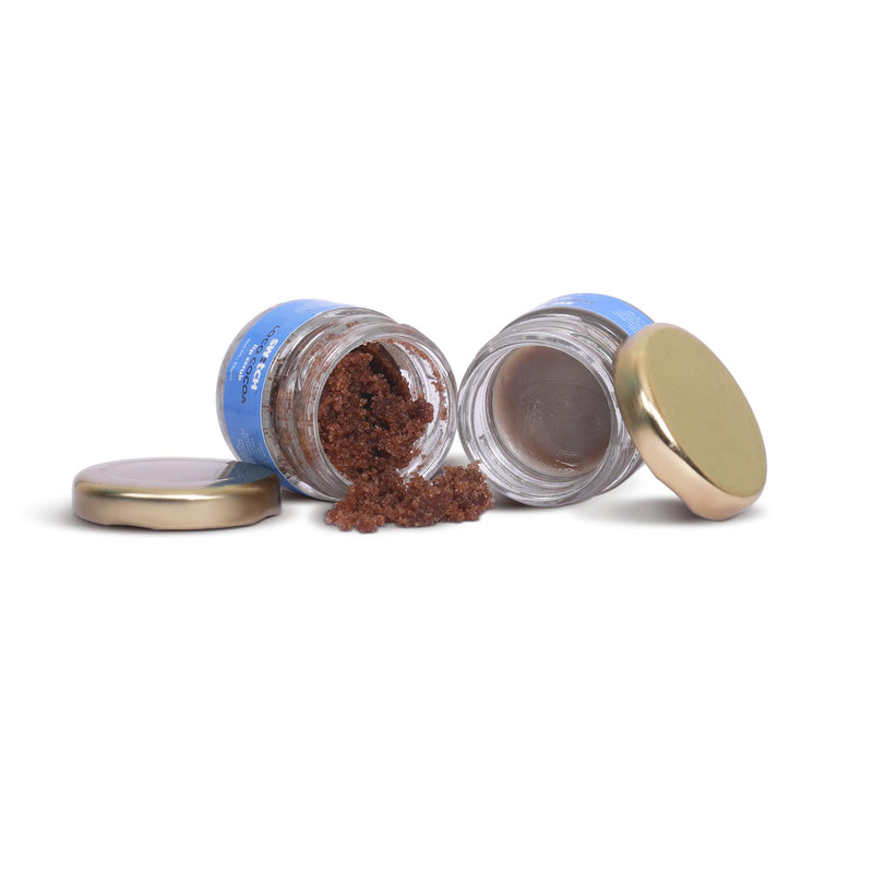 Shop Loco Cocoa: Lip Balm and Lip Scrub from The Switch Fix on SublimeLife.in. Best for protecting and nourishing dry lips.