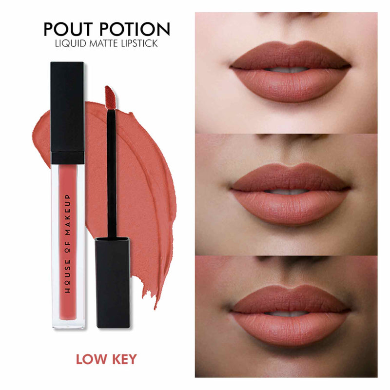 Pout Potion Liquid Matte Lipstick-Low Key-Sublime Life