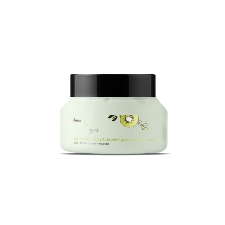 This is image of ilana organics lush eyes on www.sublimelife.in