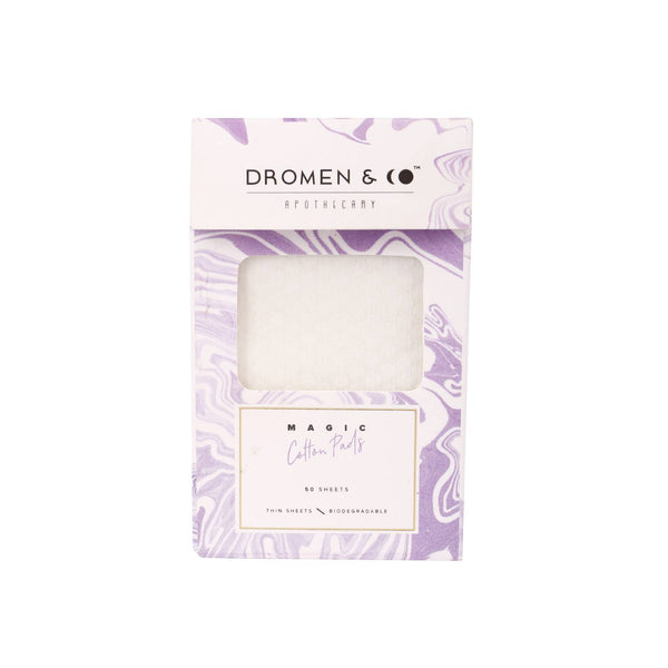 This is an image of Magic Cotton Pads from Dromen & Co with sustainable packaging. Shop on SublimeLife.in.