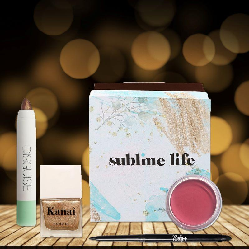 This is an image of the NAIL THE FESTIVE GLOW KIT for festive gifting on www.sublimelife.in