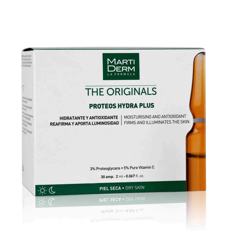 Shop Proteos Hydra Plus 30 Ampoules from Martiderm on SublimeLife.in. Best for correcting wrinkles and moisturising the skin.