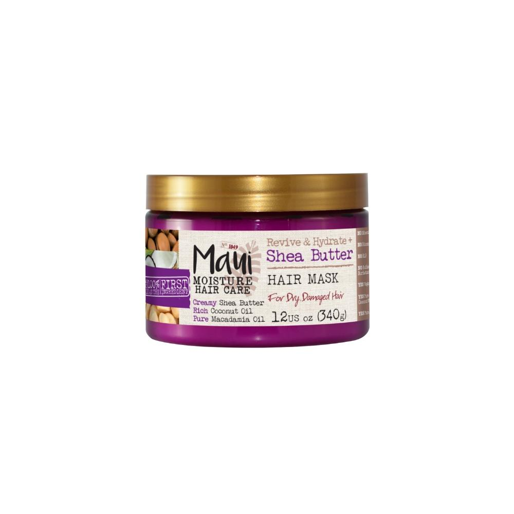 This is an image of Maui Moisture Revive & Hydrate + Shea Butter Hair Mask on www.sublimelife.in