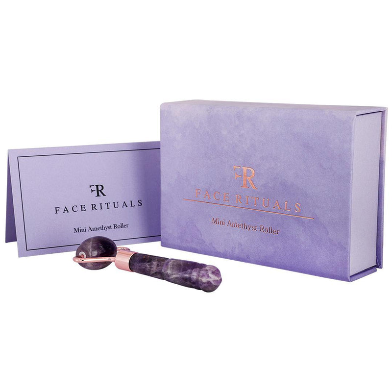 Shop Mini Amethyst Roller from Face Rituals on SublimeLife.in. Best for de stressing your body and mind.