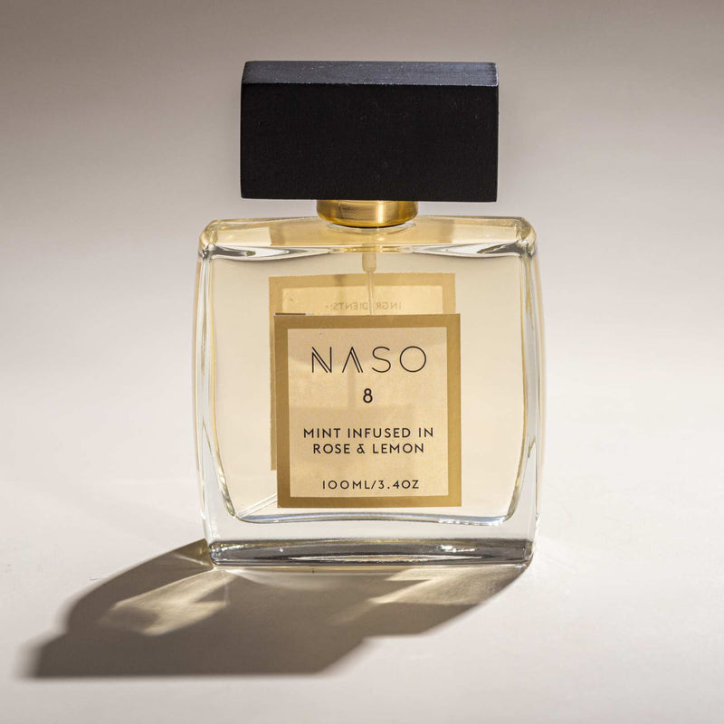Shop Mint infused in Rose & Lemon from Naso on SublimeLife.in. Best for giving your mood a gentle upliftment.