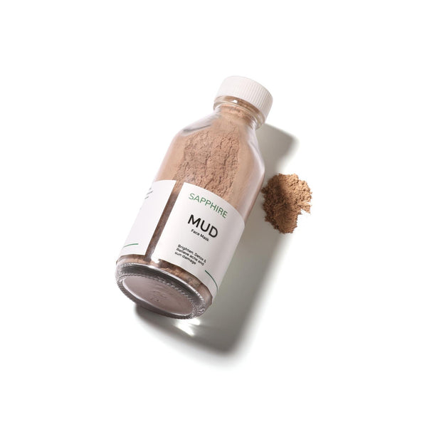 Shop Mud - Face Mask from Sapphire Botanics on SublimeLife.in. Best for skin brightening, detox, acne and sun damage.
