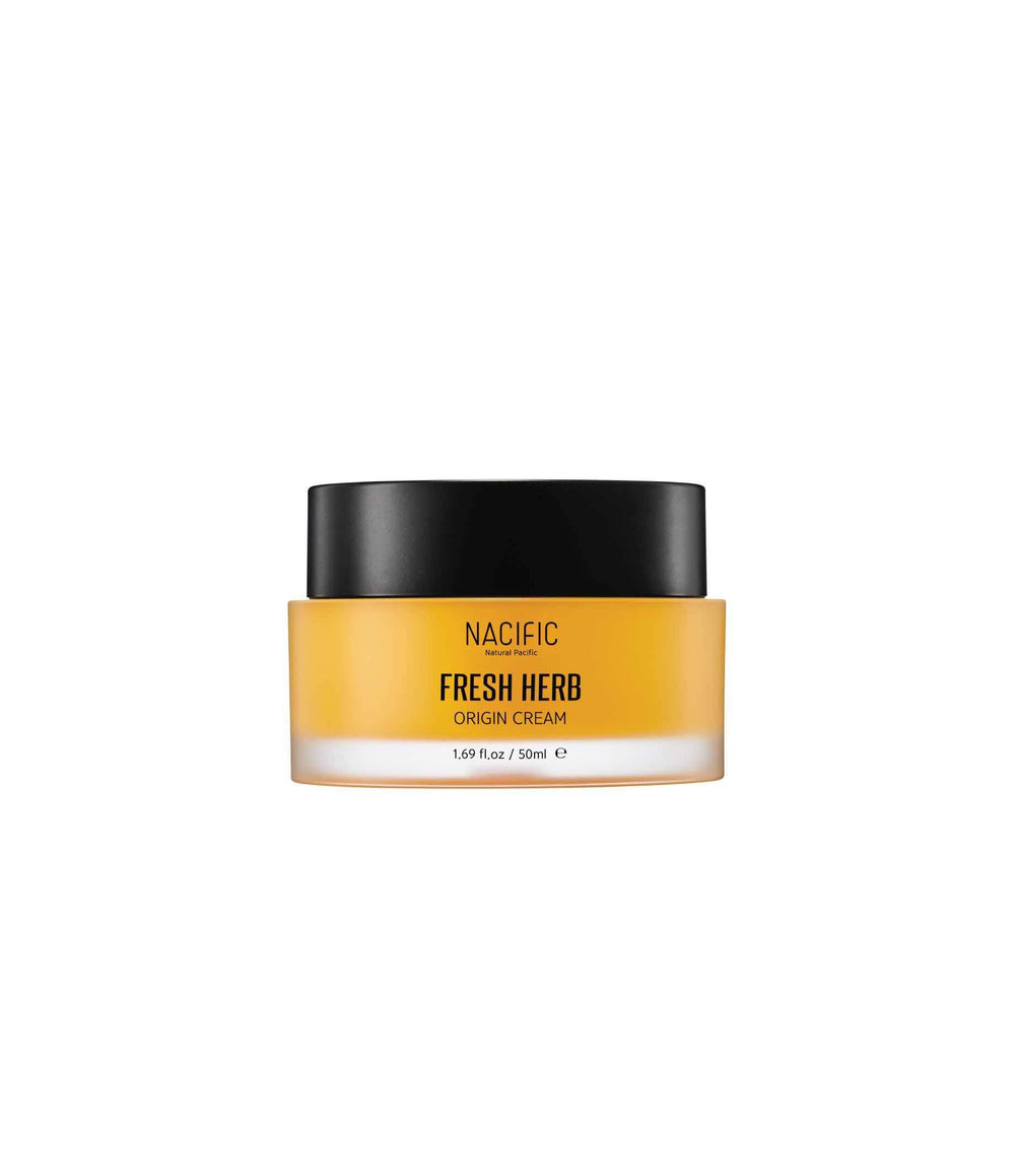 This is an image of Nacific Fresh Herb Origin Cream on www.sublimelife.in