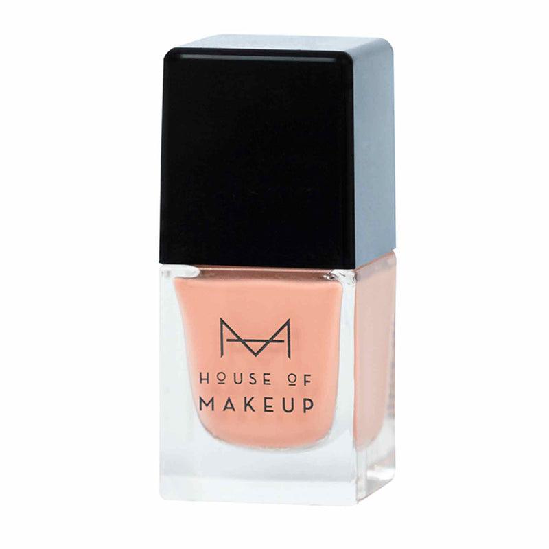 Shop Nail Lacquer-Peaches & Cream from House of Makeup on SublimeLife.in. Best for a gel-effect manicure without a UV lamp.