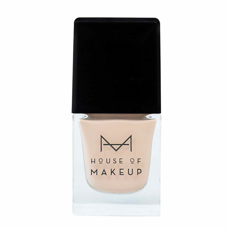 Shop Nail Lacquer-Flat White from House of Makeup on SublimeLife.in. Best for a gel-effect manicure without a UV lamp.