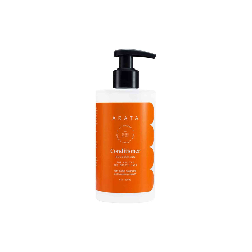 This is a image of Arata's Nourishing Conditioner  on www.sublimelife.in