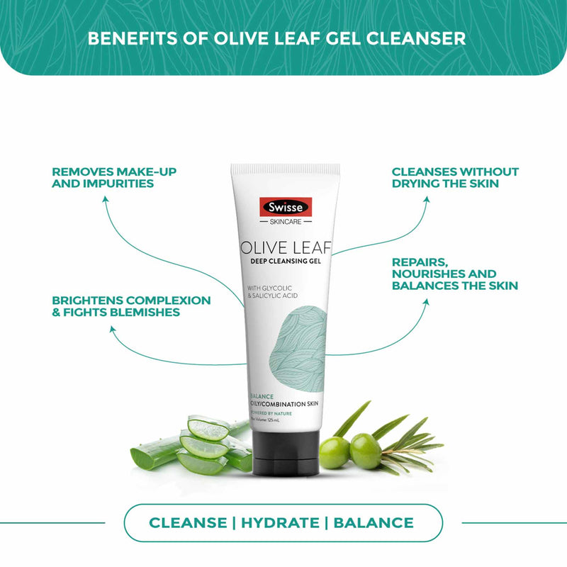 Swisse Olive Leaf Deep Cleansing Gel
