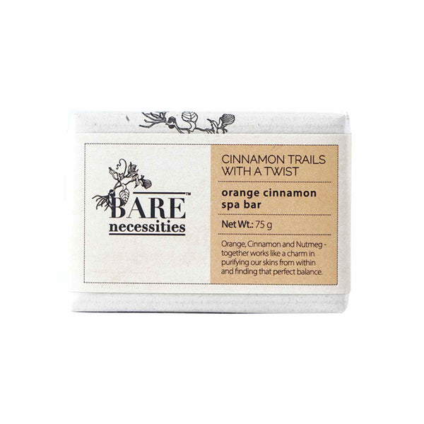 Shop Orange Cinnamon Spa Bar from Bare Necessities on SublimeLife.in. Best for unclogging open pores.