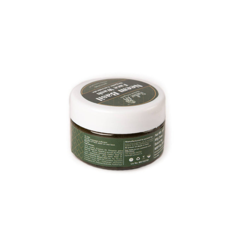 Shop Neem Basil Face Wash Concentrate from Rustic Art on SublimeLife.in. Best for keeping your acne at bay.