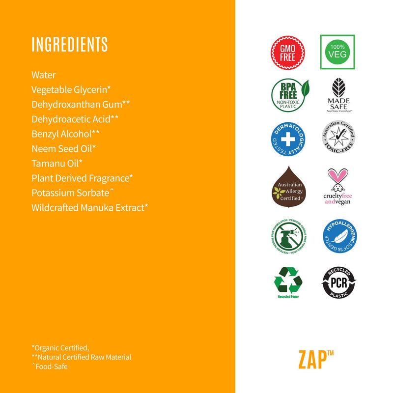 Shop Zap from Organic Riot on SublimeLife.in. Best for acne prone skin and occasional blemishes.