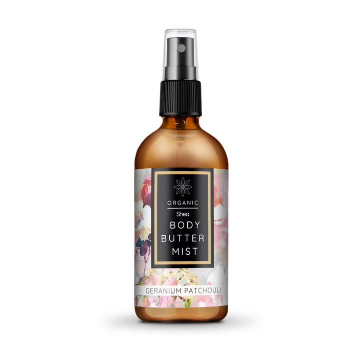 This is an image of Shea butter Body butter mist from the brand Fox8 on sublimelife.in.