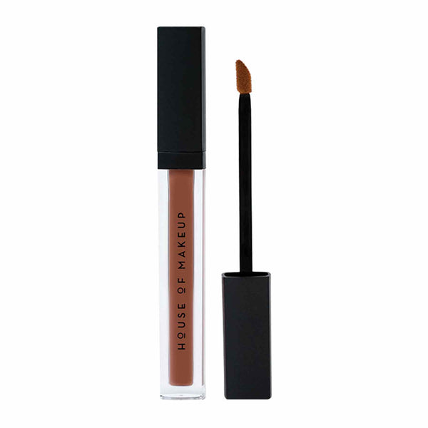 Shop Pout Potion Liquid Matte Lipstick-Brown with it from House of Makeup on SublimeLife.in. Best for a smudge-free pout.
