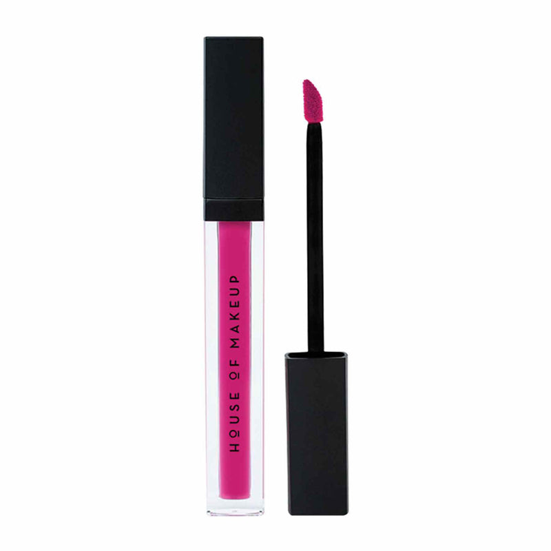 Shop Pout Potion Liquid Matte Lipstick-Good Vibes Only from House of Makeup on SublimeLife.in. Best for a smudge-free pout.